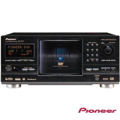 PIONEER超大容量301片儲藏式DVD播放機(DV-F727)