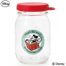 石塚硝子 迪士尼日本製美式風格玻璃收納罐-450ml(米奇)