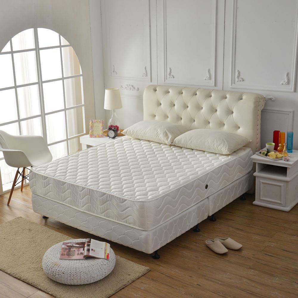 Ally愛麗飯店級3M防潑水抗菌蜂巢式獨立筒床 雙人加大6尺