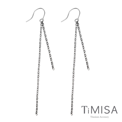 TiMISA《一見傾心》純鈦耳環