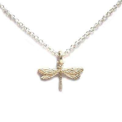 Dogeared 蜻蜓 Free Spirit 銀色許願項鍊 自由靈魂 附原廠盒