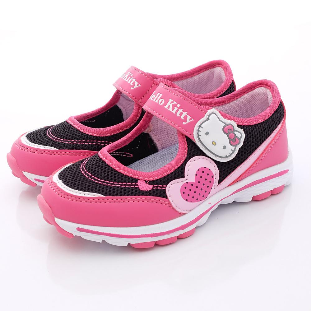 HelloKitty童鞋-機能娃娃款-SE15168黑(中大童段)HC