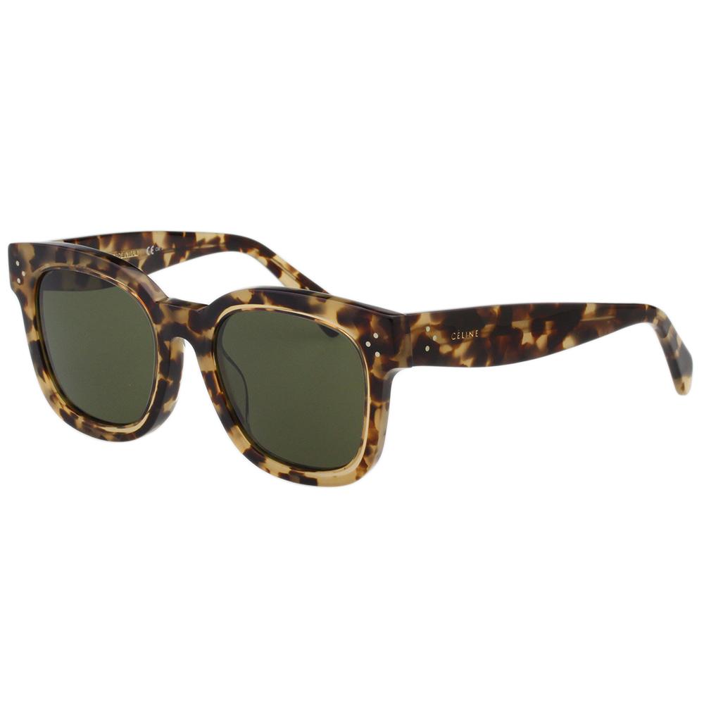 CELINE 個性方框 太陽眼鏡 (豹紋)