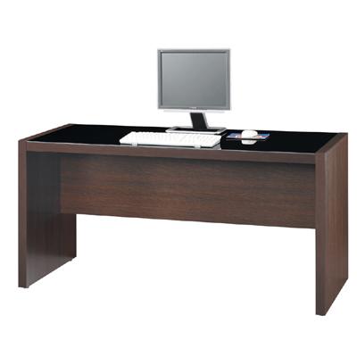 雅博德 胡桃木色5尺電腦書桌