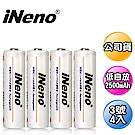 iNeno艾耐諾低自放3號鎳氫充電電池4入