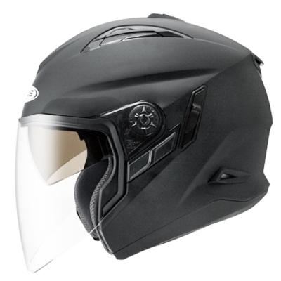 ZEUS瑞獅3/4罩式ZS613B安全帽(消光黑)