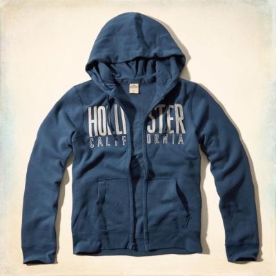 Hollister HCO 長袖 外套 藍色 0264
