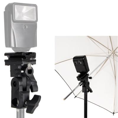 專業攝影閃光燈離機閃固定燈座(含傘座)