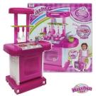 手提式聲光音樂廚具台組008-56(粉色)