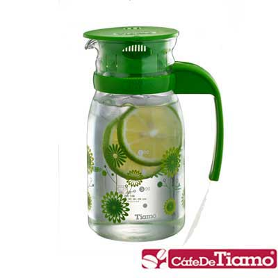 [二色任選 ]Tiamo 805玻璃冷水壺 800ml