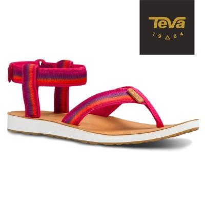 TEVA 美國-女 Original Sandal 經典緹花涼鞋 (漸層紅)