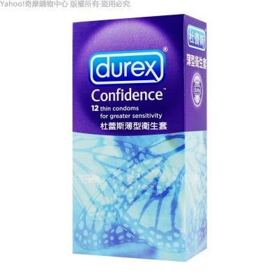 Durex杜雷斯 薄型保險套 (12入X5盒)(快速到貨)