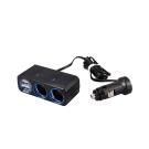 [快]YAC 4.8A雙孔雙USB延長插座(PZ-711)