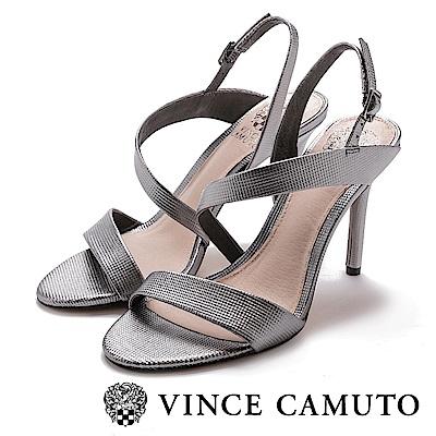 Vince Camuto 美型曲線優雅高跟涼鞋-銀色