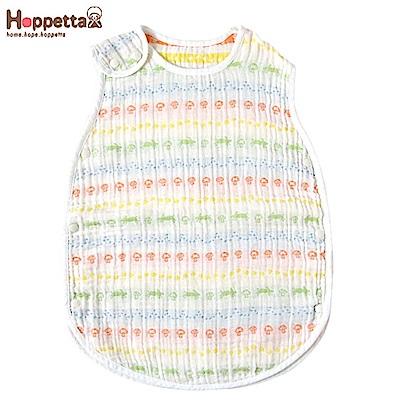 日本 Hoppetta 彩虹蘑菇四層紗防踢背心(嬰童款)