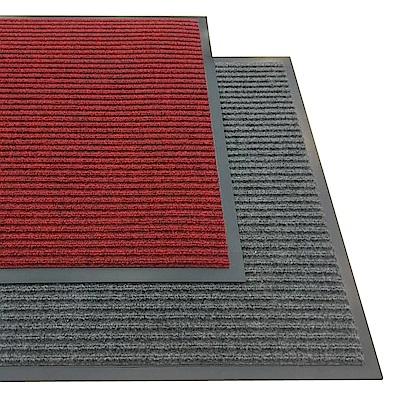 范登伯格 - 條紋型刮泥吸水墊-(兩色可選)-60x90cm
