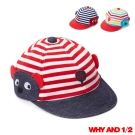 WHY AND 1/2 mini  普普熊條紋帽子 多色可選