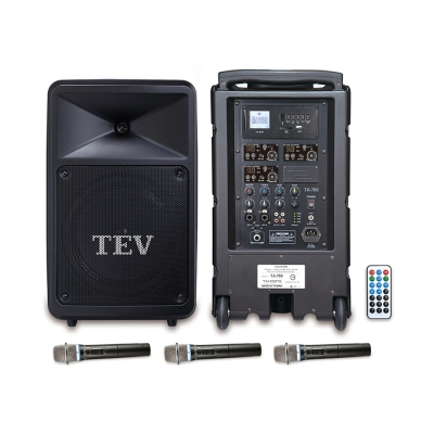 TEV USB/SD三頻無線擴音機 TA780U-3