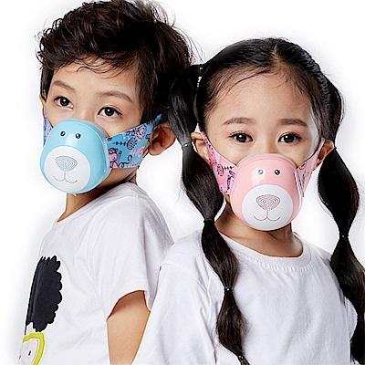 日本KOTSURU-兒童穿戴式空氣淨化器(電動口罩)
