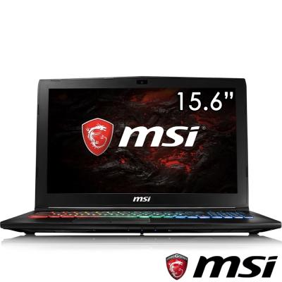 MSI微星 GP62MVR-683 15吋電競筆電(i7-7700/GTX1060/128+1T