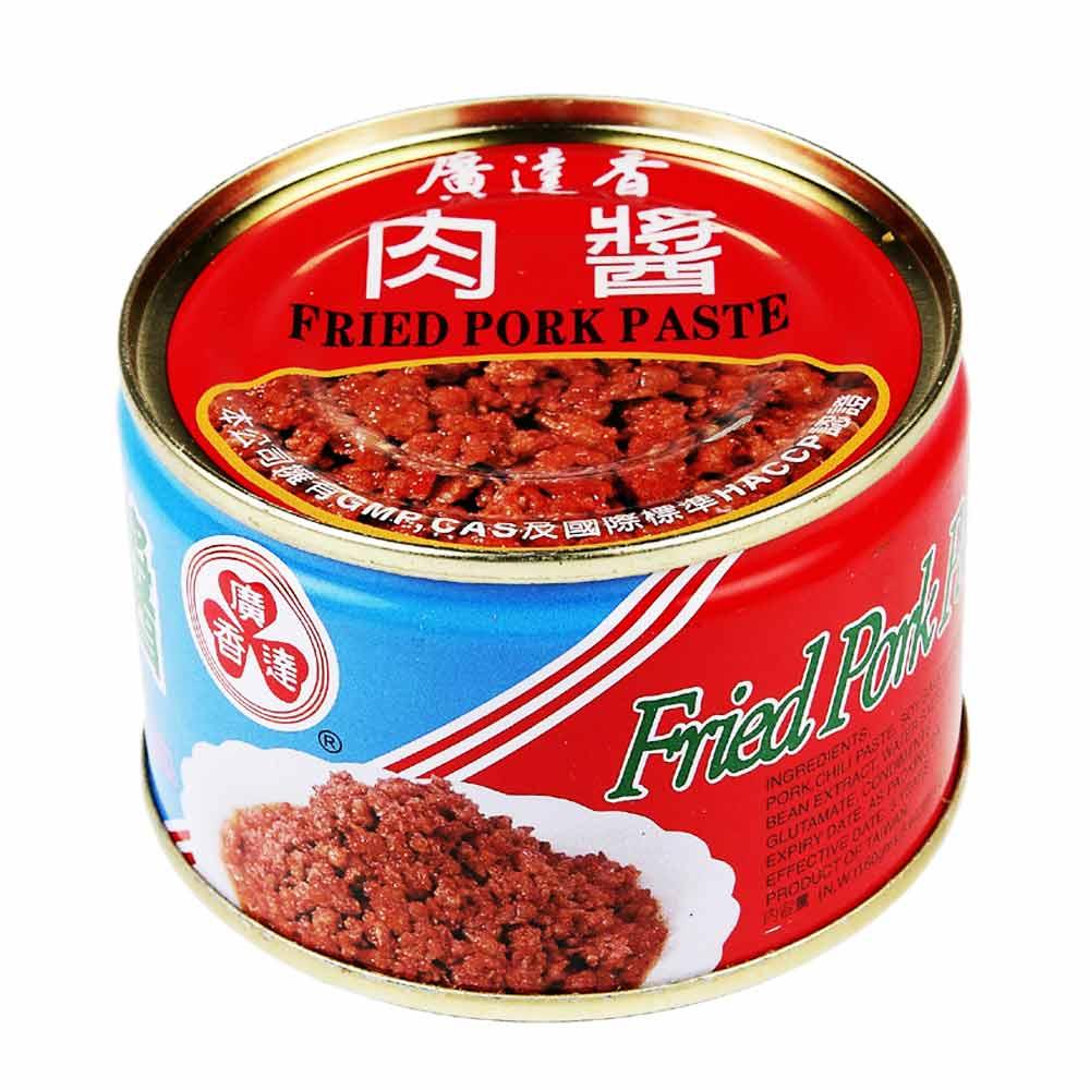廣達香 傳統肉醬(160gx3入)