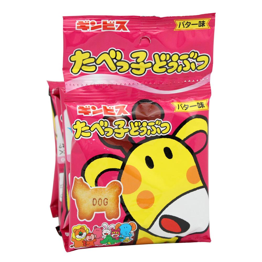 ! GINBIS 5連動物造型餅乾(85g)