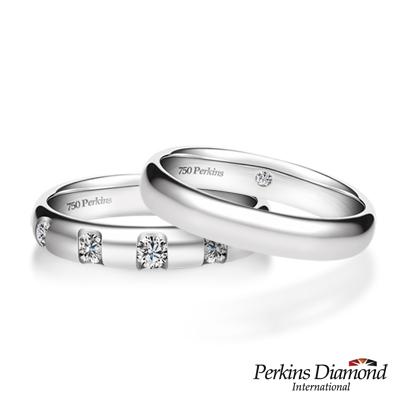 PERKINS 伯金仕 - Classic系列 鑽石結婚對戒