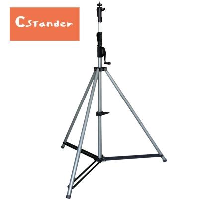 STANDER WP-165 齒輪鍊條手搖式升降燈光架(支)