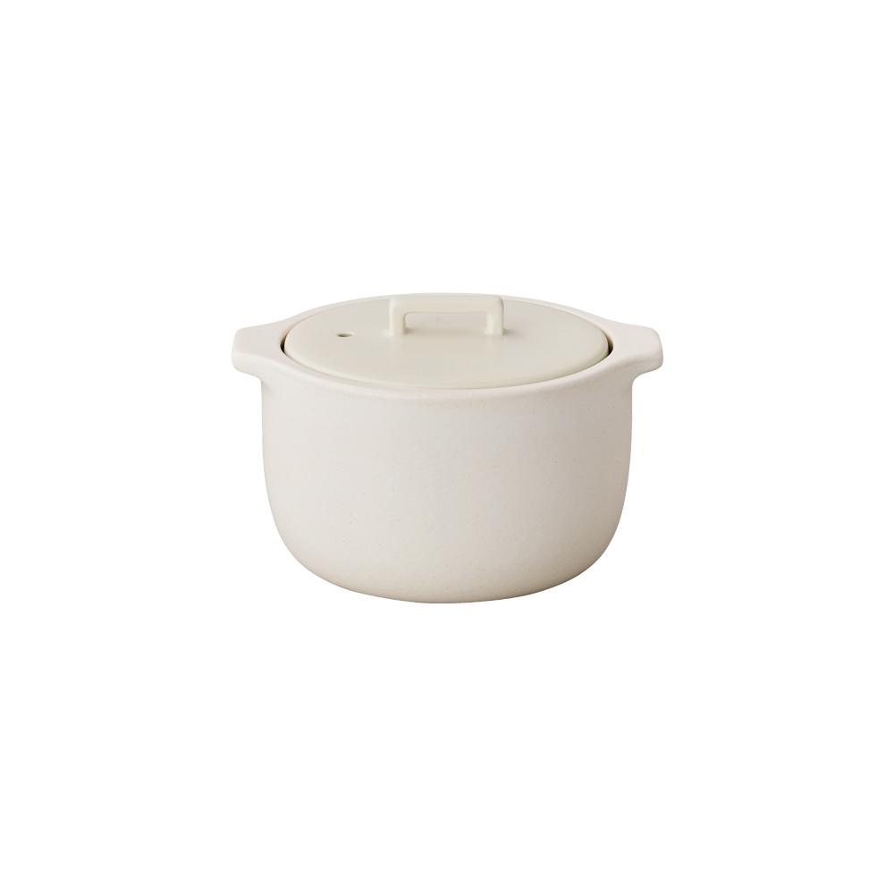 日本KINTO KAKOMI炊飯鍋 1.2L-白