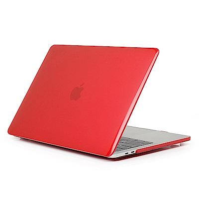 For Apple MacBook Air 13.3吋 筆電殼 透紅