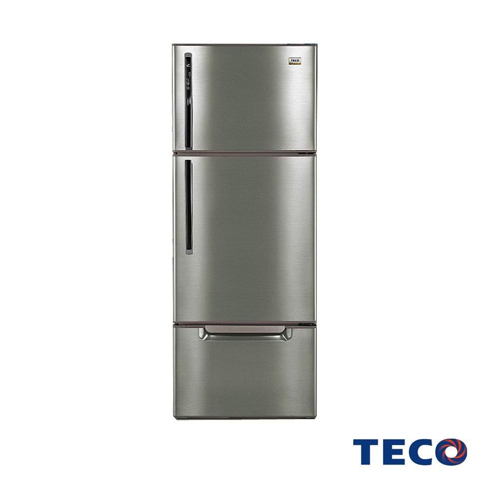 [福利品] TECO東元600L變頻三門冰箱(古銅鑽R6061VXH)