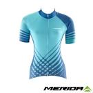 《MERIDA》美利達 女短袖車衣 綠/藍