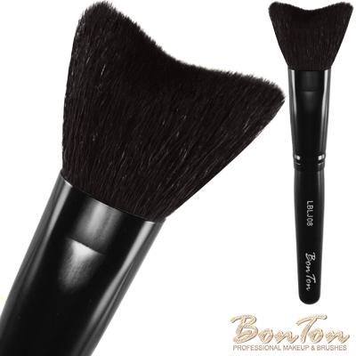 BonTon 墨黑系列 M形修容/腮紅刷LBLJ08 特級尖鋒羊毛