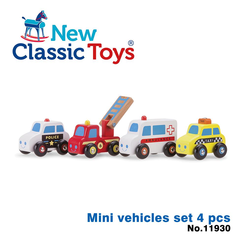 【荷蘭New Classic Toys】救援英雄小車隊 - 4car - 11930