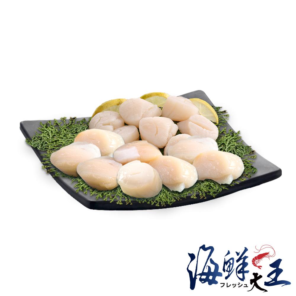海鮮大王 干貝滿漢全餐*1套組(北海道干貝500g*1+野生大干貝500g*1)