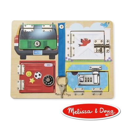美國瑪莉莎 Melissa & Doug 益智遊戲 - 門鎖遊戲板