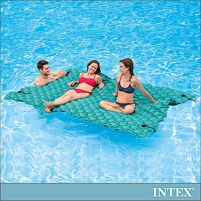 INTEX 漂浮水陸兩用超大型充氣床墊290x213cm (56841)