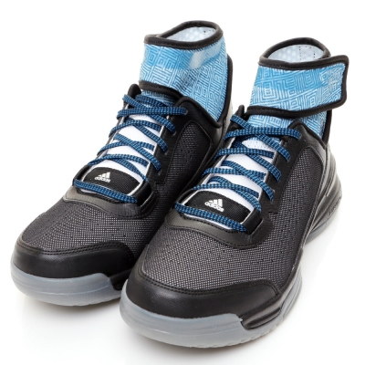 ADIDAS-DUAL THREAT男籃球鞋-黑