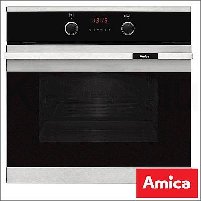 Amica 波蘭進口 EBF-8551 AA崁入式10段功能66L三層玻璃3D旋風烤箱