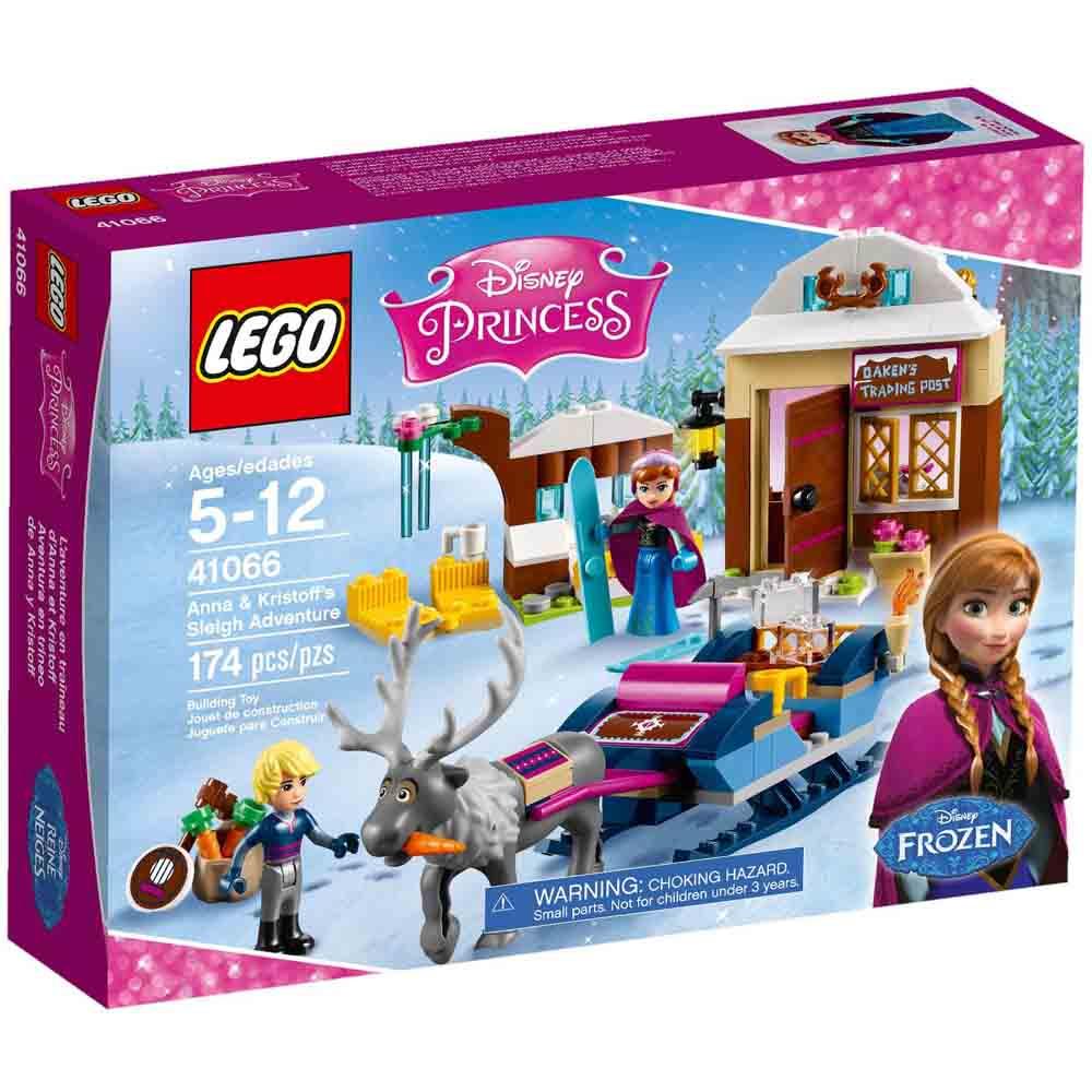 LEGO 樂高玩具 迪士尼公主系列 安娜和阿克的雪橇冒險 41066