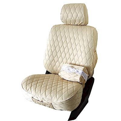 【葵花】量身訂做-汽車椅套-布料-排汗A-雙前座