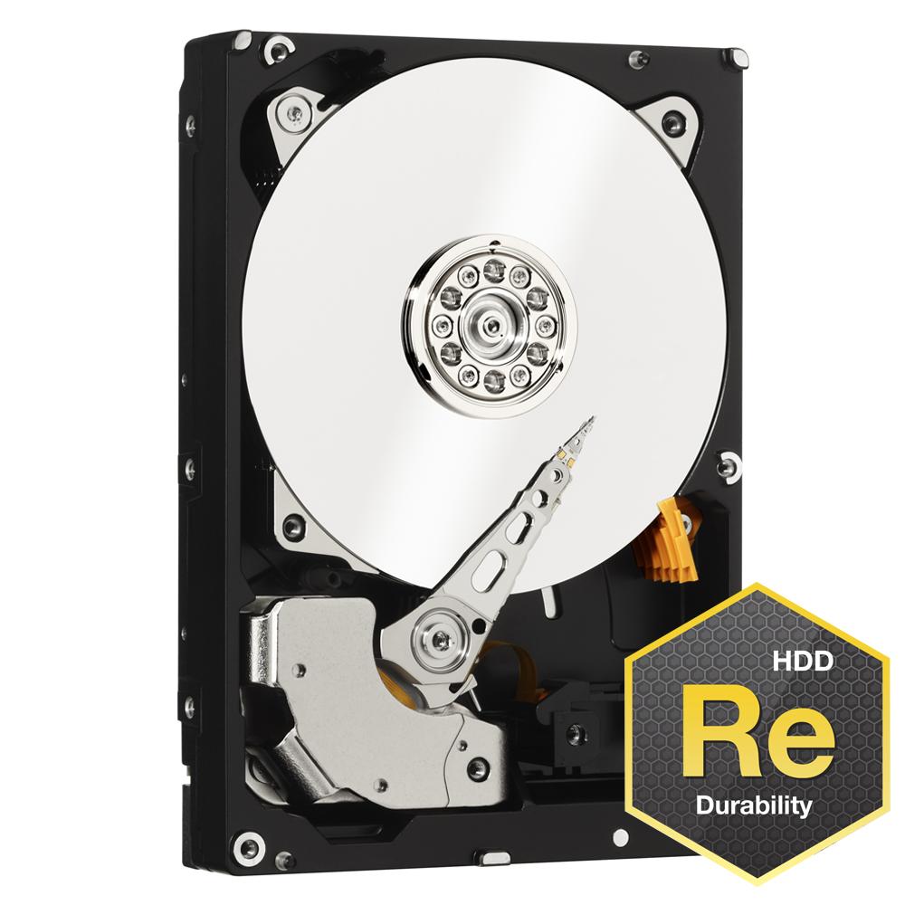 WD RE系列 3.5吋 4TB SATA3 企業級硬碟(WD4000FYYZ)