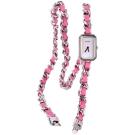 CHANEL H4312 Premi?re Rock 桃紅色珍珠母貝三圈鍊錶
