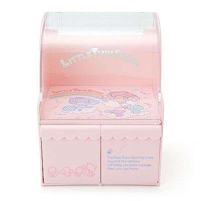 Sanrio 雙星仙子星空啦啦隊系列桌上型塑膠迷你置物櫃