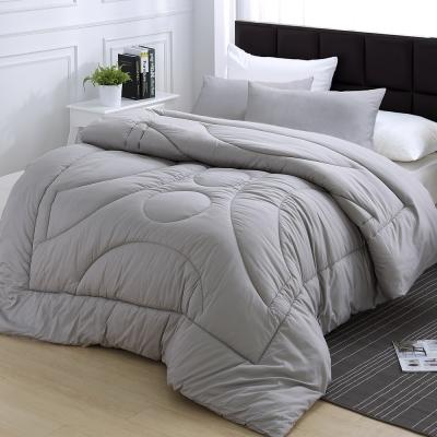 【HOYACASA】100%純竹炭纖維保暖冬被-雙人(一被兩枕超值組)