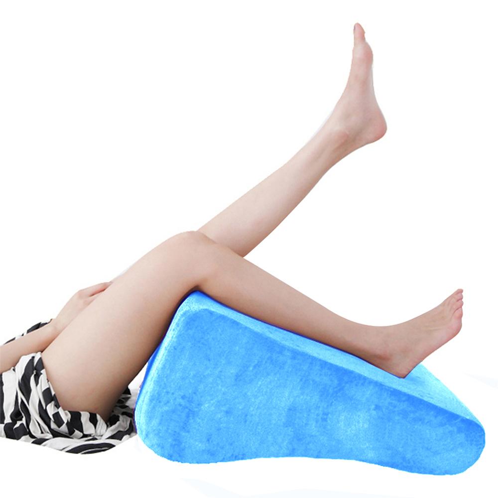 美人心機 台灣製纖腿枕/靠枕/抬腿枕 (水藍)