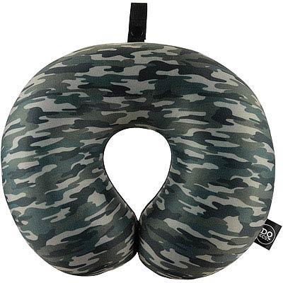 DQ 緩衝顆粒護頸枕(迷彩綠)