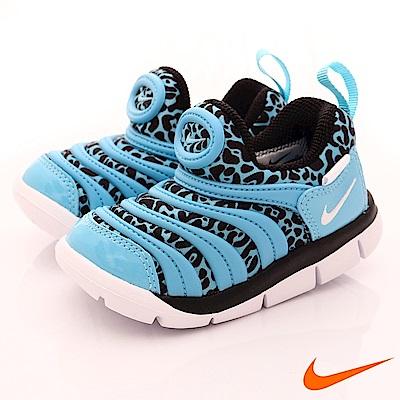 NIKE 毛毛蟲休閒童鞋 EI34366-402藍 (寶寶段)