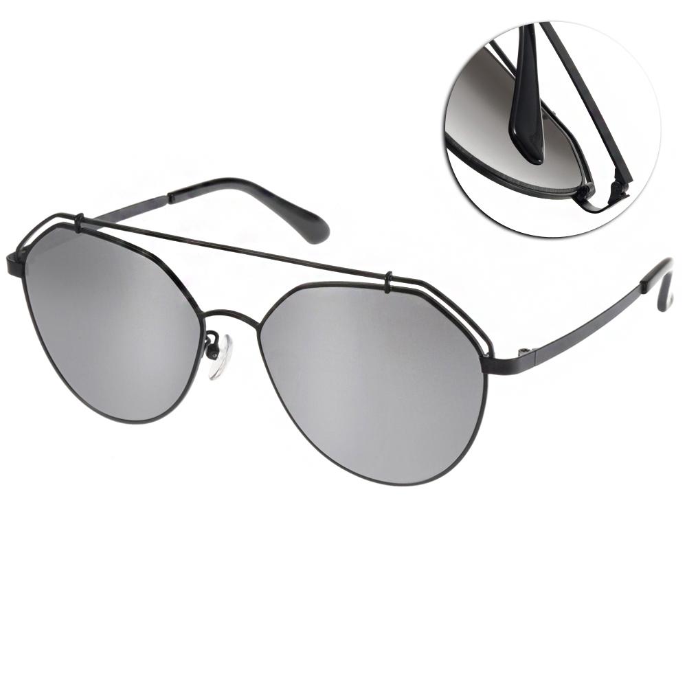 Go-Getter太陽眼鏡 造型飛官款/銀黑-白水銀#GS0003 C02