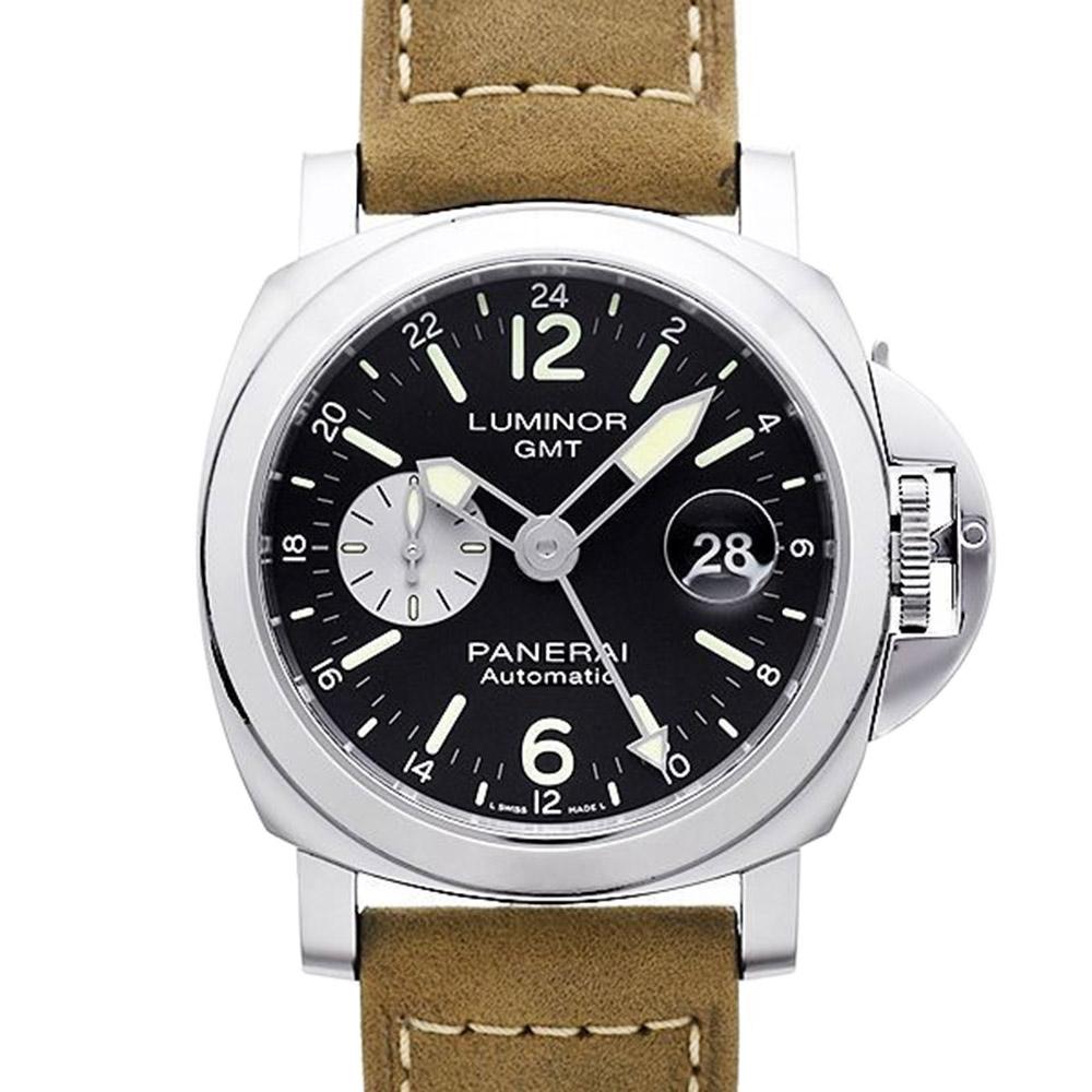 PANERAI 沛納海 Luminor PAM01088 GMT自動上鍊機械腕錶-44mm